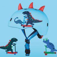 medium-Micro Helmet 3D Scootersaurus Static