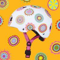 medium-Micro Helmet Doodle Dot Static