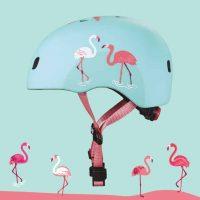 medium-Micro Helmet Flamingo Static